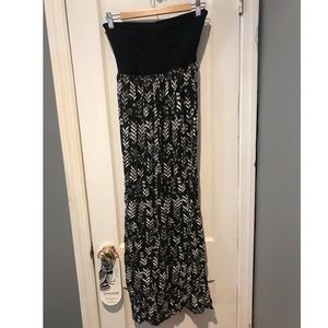 Roxy Strapless Maxi Dress